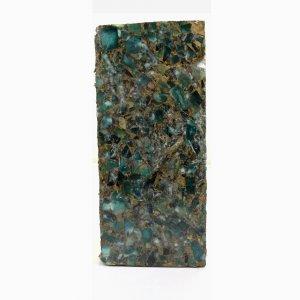 Mohave Copper Amazonite 133x58mm Rough Slab 1204.60 Gm
