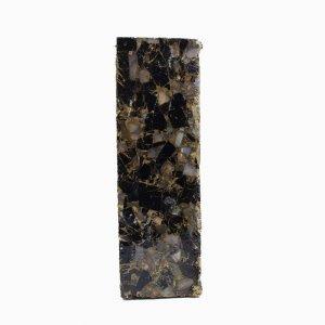 Mohave Copper Black Tourmaline M O P 130x42mm Rough Slab 953.00 Gm