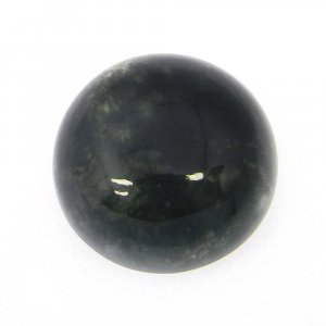 Moss Agate 13mm Round Cabochon 8.3 Cts