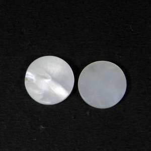 Mother Of Pearl 11.5x11.5mm Round Cabochon 2.43 Cts