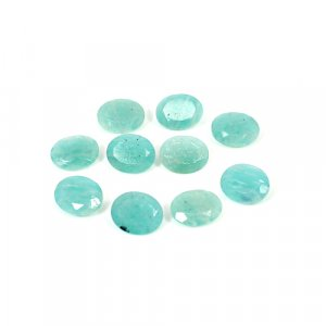Natural Amazonite 10x8mm Oval Cut 1.90 Cts Loose Gemstone
