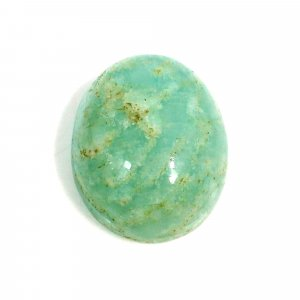 Natural Amazonite 16x13mm Oval Cabochon 11.45 Cts