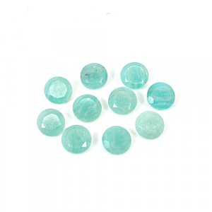 Natural Amazonite 8mm Round Cut 1.50 Cts Loose Gemstone