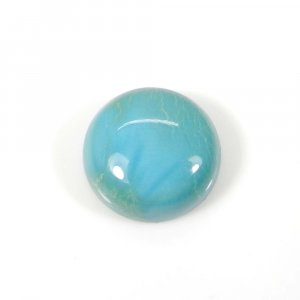 Natural American Turquoise 13 mm Round Cabochon 8.20 Cts