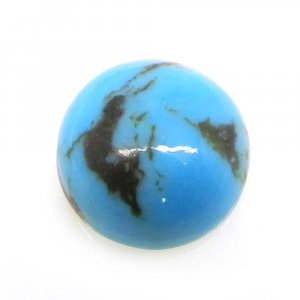 Natural American Turquoise 13mm Round Cabochon 7.85 Cts