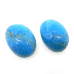Natural American Turquoise 14x10mm Oval Cabochon 6.3 Cts