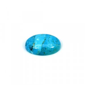 Natural American Turquoise 20x15mm Oval Cabochon 12.35 Cts Loose Gemstone