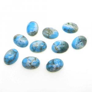Natural American Turquoise 7x5mm Oval Cabochon 0.9 Cts