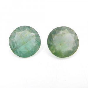 Natural Apatite 12mm Round Cut 6.15 Cts
