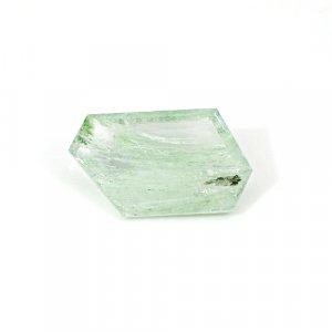 Natural Aqua Crackle Glass 31.50 Cts Fancy Cut 33x19mm Loose Gemstone