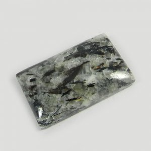 Natural Astrophyllite 24x15mm Rectangle Cabochon 27.4 Cts