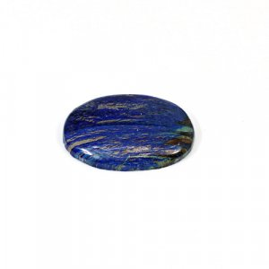 Natural Azurite 22.55 Cts Oval Cabochon 27x20mm Loose Gemstone