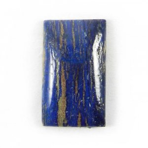 Natural Azurite 22.5x17mm Rectangle Cabochon 22.7 Cts