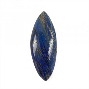 Natural Azurite 29x8.5mm Marquise Cabochon 8.75 Cts