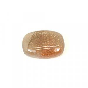 Natural Bio Sunstone 22x15mm Rectangle Cushion Cabochon 19.25 Cts Loose Gemstone