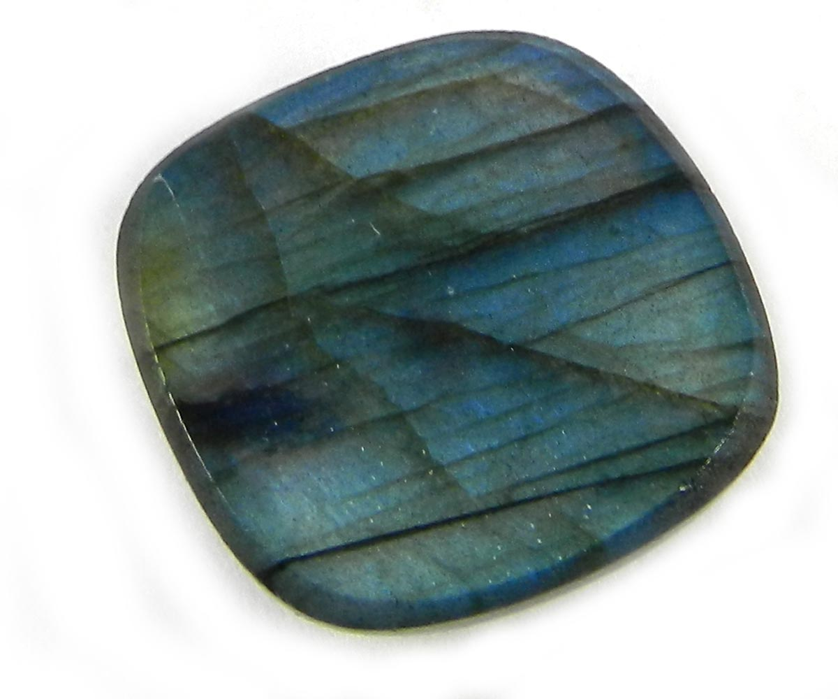 Details about  /100/% Natural Fire Labradorite Cushion Cabochon Loose Gemstone WECO 22