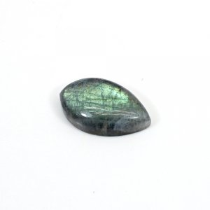 Natural Blue Fire Labradorite 22x13mm Pear Cabochon 16.1 Cts Loose Gemstone