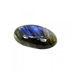 Natural Blue Fire Labradorite 26x15mm Oval Cabochon 21.15 Cts Loose Gemstone
