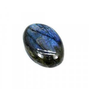 Natural Blue Fire Labradorite 28x19mm Oval Cabochon 32.75 Cts Loose Gemstone