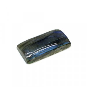Natural Blue Fire Labradorite 31x15mm Rectangle Cabochon 39.30 Cts Loose Gemstone