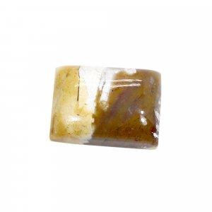 Natural Brecciated Mookaite Jasper 18x13mm Octagon Cabochon 15.35 Cts