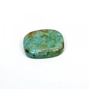 Natural Chrysocolla 22x18mm Cushion Cabochon 17.70 Cts Loose Gemstone