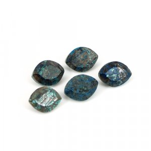 Natural Chrysocolla Gemstone Marquise Faceted 6x8mm 1.55 Cts
