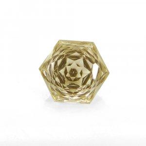 Natural Citrine 13x13mm Hexagon Concave Cut 7.40 Cts