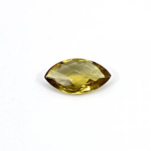 Natural Citrine Marquise Checker Cut 14x7mm 2.90 Cts Loose Gemstone