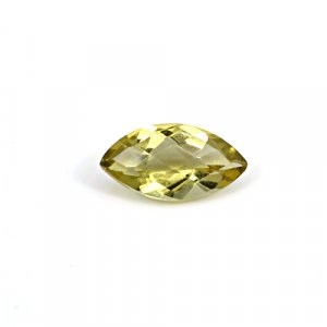 Natural Citrine Marquise Checker Cut 14x7mm 3.4 Cts Loose Gemstone