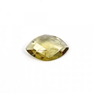 Natural Citrine Marquise Checker Cut 15x10mm 3.20 Cts Loose Gemstone