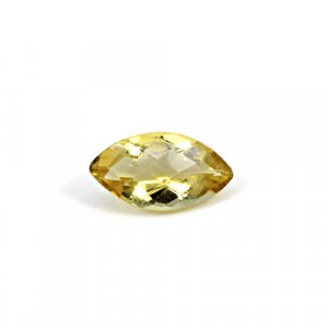 Natural Citrine Marquise Checker Cut 16x8mm 5.30 Cts Loose Gemstone