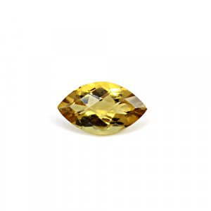 Natural Citrine Marquise Checker Cut 16x9mm 4.8 Cts Loose Gemstone