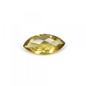Natural Citrine Marquise Checker Cut 17x8mm 3.70 Cts Loose Gemstone