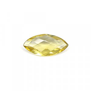 Natural Citrine Marquise Checker Cut 17x9mm 3.50 Cts Loose Gemstone