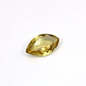 Natural Citrine Marquise Checker Cut 18x11mm 7.50 Cts Loose Gemstone