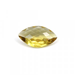 Natural Citrine Marquise Checker Cut 20x11mm 7.15 Cts Loose Gemstone