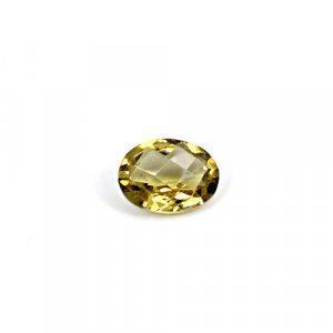 Natural Citrine Oval Checker Cut 10x8mm 2.30 Cts Loose Gemstone