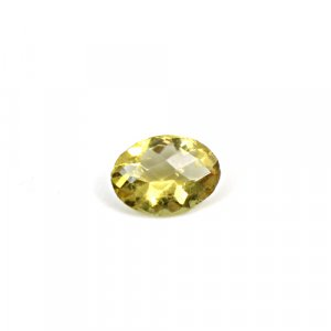 Natural Citrine Oval Checker Cut 11x8mm 2.20 Cts Loose Gemstone
