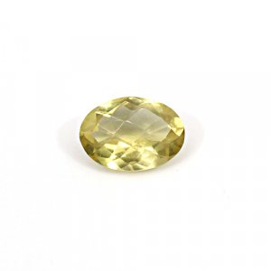 Natural Citrine Oval Checker Cut 11x8mm 2.7 Cts Loose Gemstone