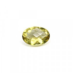Natural Citrine Oval Checker Cut 13x10mm 4.80 Cts Loose Gemstone