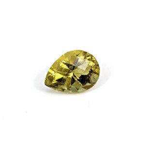 Natural Citrine Pear Checker Cut 10x7mm 1.9 Cts Loose Gemstone