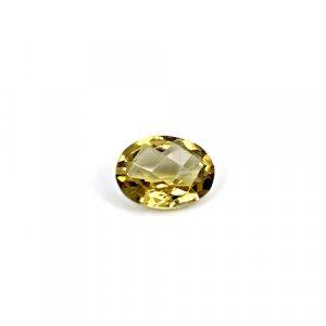 Natural Citrine Pear Checker Cut 10x7mm 2.3 Cts Loose Gemstone