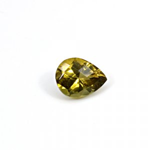 Natural Citrine Pear Checker Cut 11x9mm 3.80 Cts Loose Gemstone