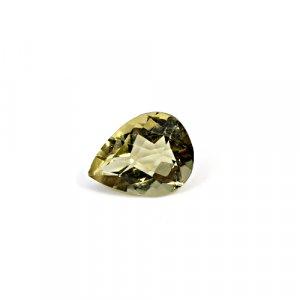 Natural Citrine Pear Checker Cut 12x9mm 3.30 Cts Loose Gemstone