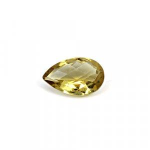 Natural Citrine Pear Checker Cut 15x9mm 4.70 Cts Loose Gemstone