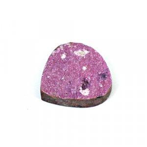 Natural Cobalt Calcite 27.65 Cts Heart Flat 24x24mm Loose Gemstone