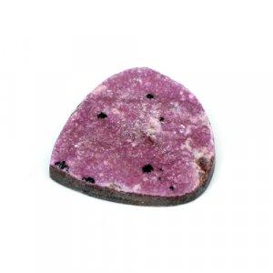 Natural Cobalt Calcite 52.65 Cts Heart Flat 34x33mm Loose Gemstone