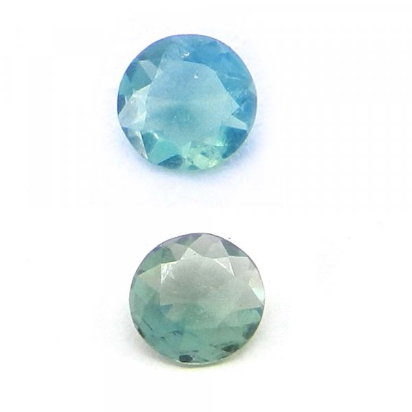 Natural Color Change Alexandrite 4mm Round Cut 0.1 Cts