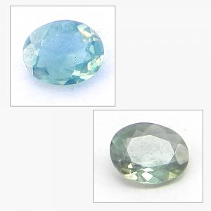 Natural Color Change Alexandrite 4x3mm Oval Cut 0.1 Cts